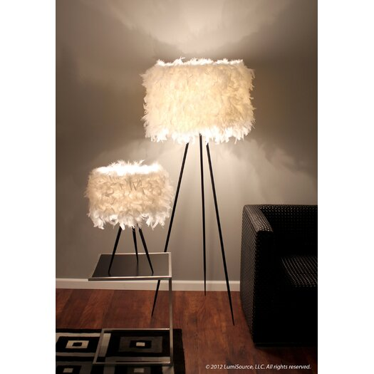 "LumiSource Audubon 21.5"" H Table Lamp with Drum Shade"