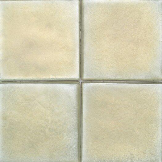 """Daltile Cristallo Glass 4"""" x 4"""" Field Tile in Peridot"""