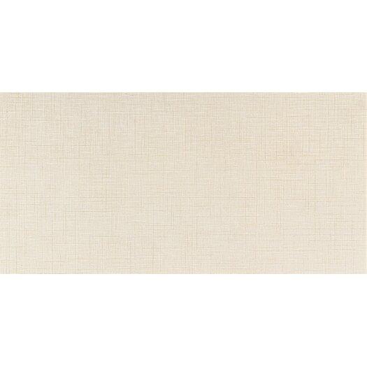 """Daltile Kimona Silk 12"""" x 24"""" Field Tile in White Orchid"""