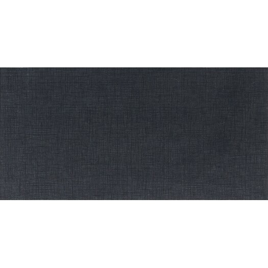 "Daltile Kimona Silk 12"" x 24"" Field Tile in Panda Black"