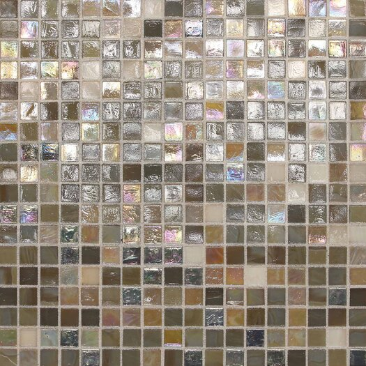 """Daltile City Lights 1/2"""" x 1/2"""" Glass Frosted Mosaic in Barcelona"""