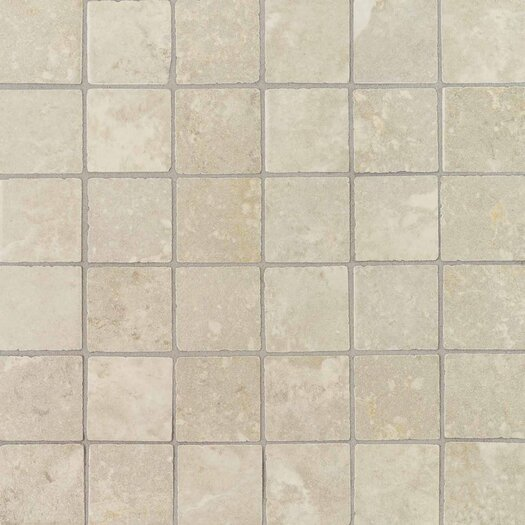 """Daltile Pietre Vecchie 2"""" x 2"""" Mosaic Field Tile in Antique Ivory"""