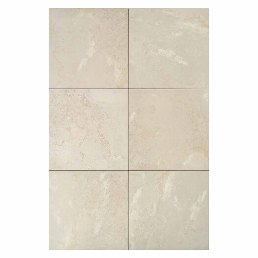 Daltile Pietre Vecchie Porcelain Glazed Field Tile in Antique Ivory