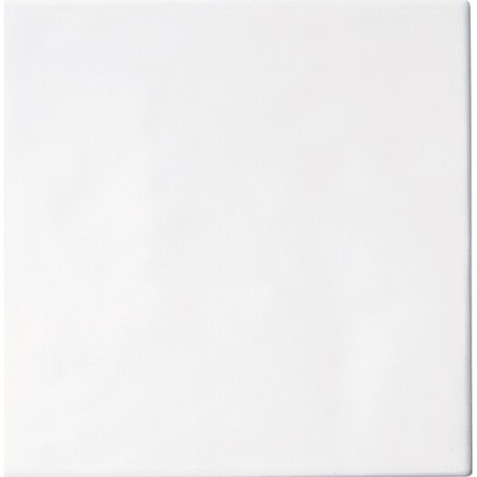 Daltile Polaris Ceramic Glazed Field Tile in Gloss White