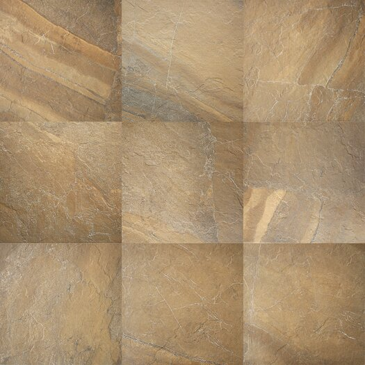 Daltile Ayers Rock Porcelain Unpolished Field Tile in Bronzed Beacon