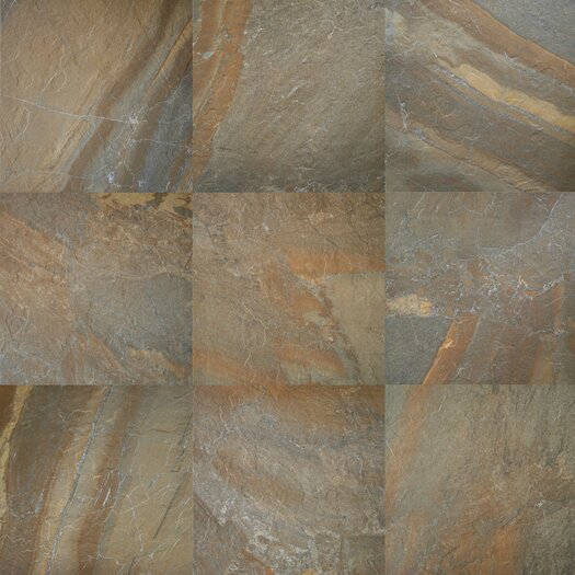 Daltile Ayers Rock Porcelain Unpolished Field Tile in Rustic Remnant