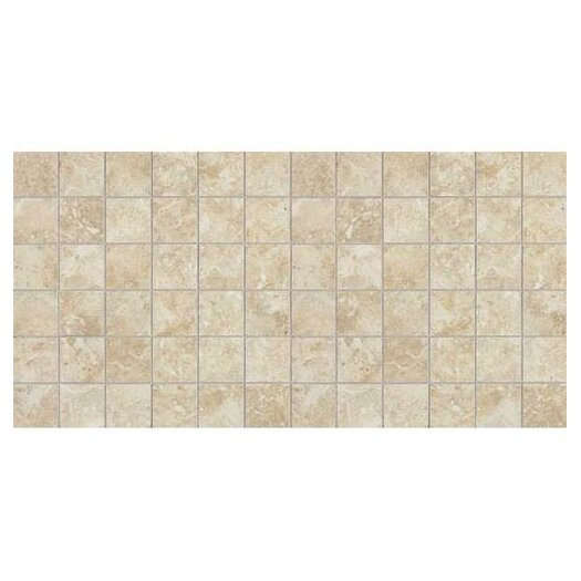 "Daltile Heathland 2"" x 2"" Unpolished Ceramic Mosaic in Sunrise Blend"