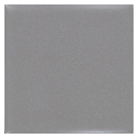 "Daltile Permatones 2"" x 2"" Plain Mosaic Field Tile in Matte Suede Gray"