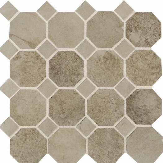Daltile Aspen Lodge Mosaic Field Tile in Shadow Pine