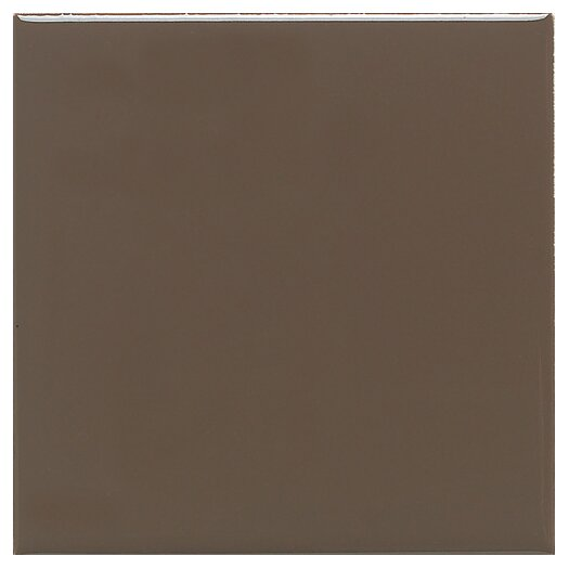 "Daltile Modern Dimensions 4"" x 2"" Straight-Joint Plain Ceramic Mosaic in Artisan Brown"