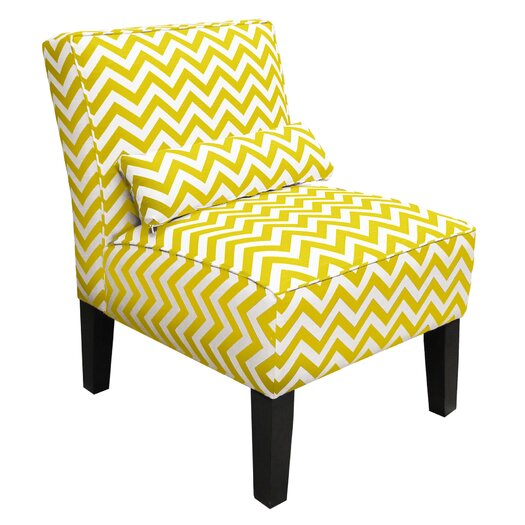 Skyline Furniture Zig Zag Slipper Chair