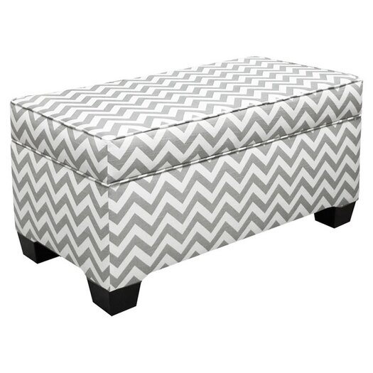 Skyline Furniture Skyler Storage Ottoman