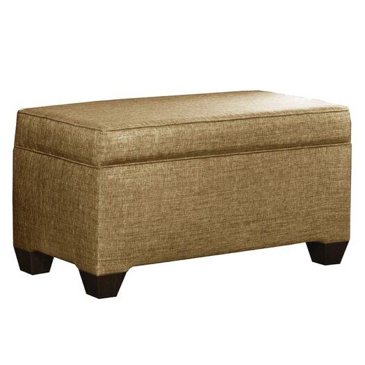 Skyline Furniture Glitz Upholstered Storage Bench