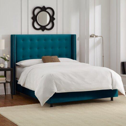 Skyline Furniture Wingback Bed