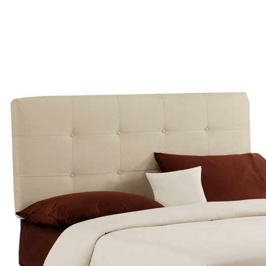 Skyline Furniture Double Button Tufted Upholstered Headboard