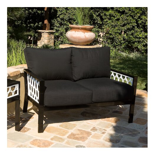 Koverton Parkview Cast Deep Seating Loveseat with Cushions