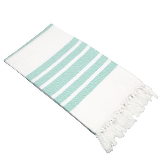 Linum Home Textiles Herringbone 100% Turkish Cotton Pestemal/Fouta Bath Towel