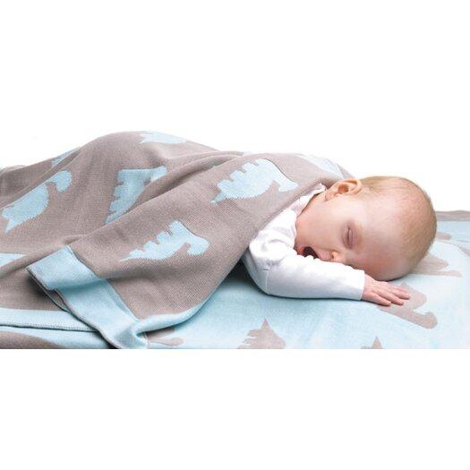 Weegoamigo Dino Herd Blanket