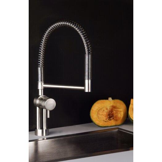 Moda Collection Mina One Handle Single Hole Twist Kitchen Faucet