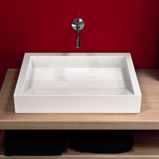 Moda Collection Groove Vessel Bathroom Sink