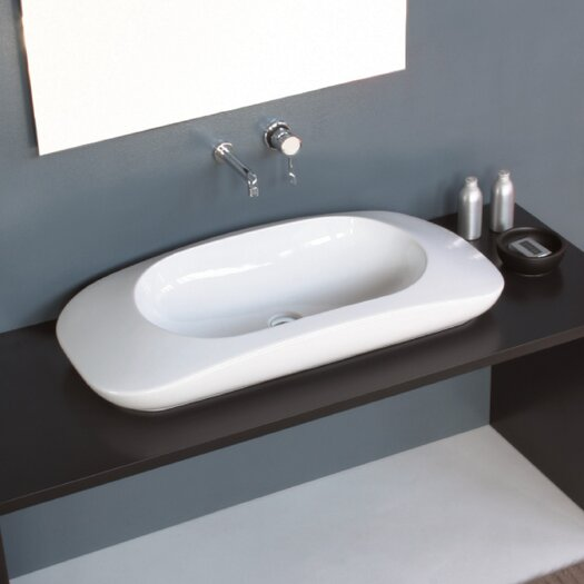 Moda Collection Crescent Vessel Bathroom Sink