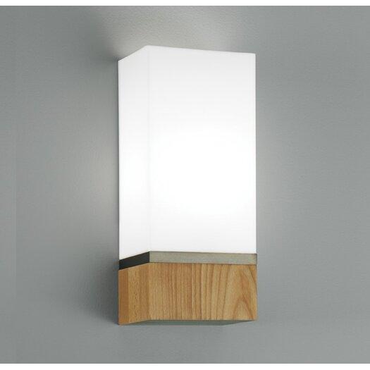 ILEX Lighting Cube 1 Light Wide Wall Sconce