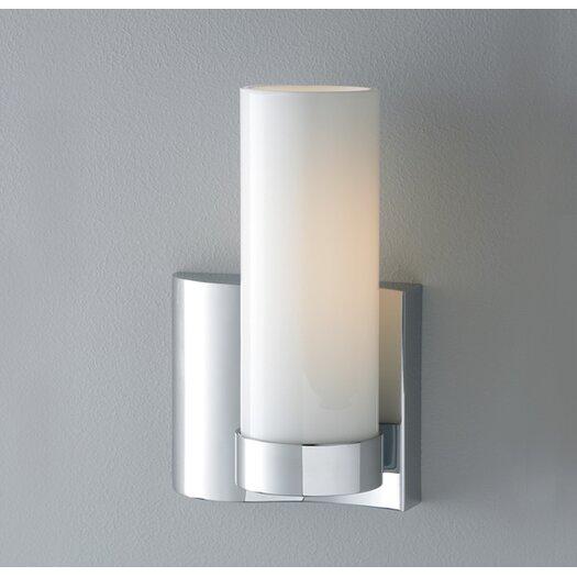 ILEX Lighting Wave 1 Light Single Wall Sconce Left