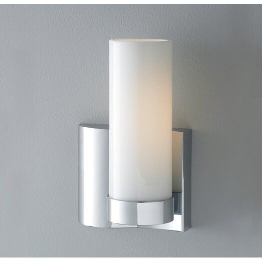 ILEX Lighting Wave 1 Light Single Wall Sconce Left