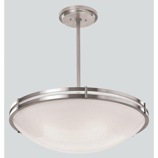ILEX Lighting Hanover Bowl Pendant with Single Stem