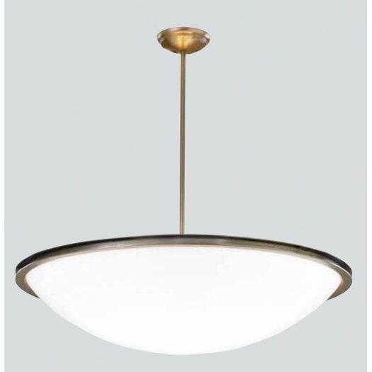 ILEX Lighting Regent Bowl Pendant with Single Stem