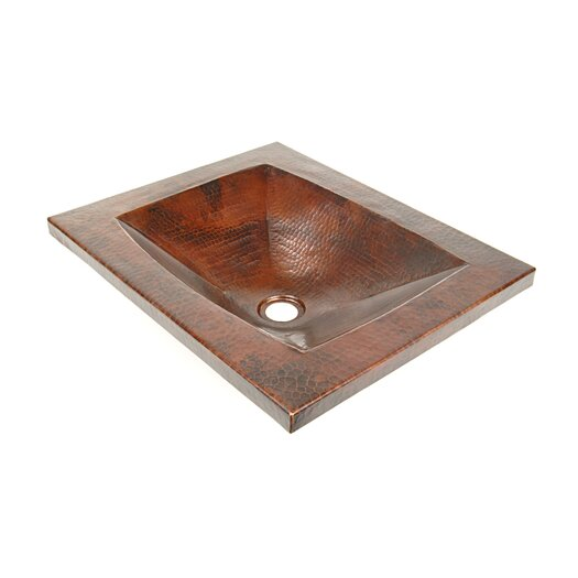 "D'Vontz Copper Bathroom Sinks 20"" x 16"""