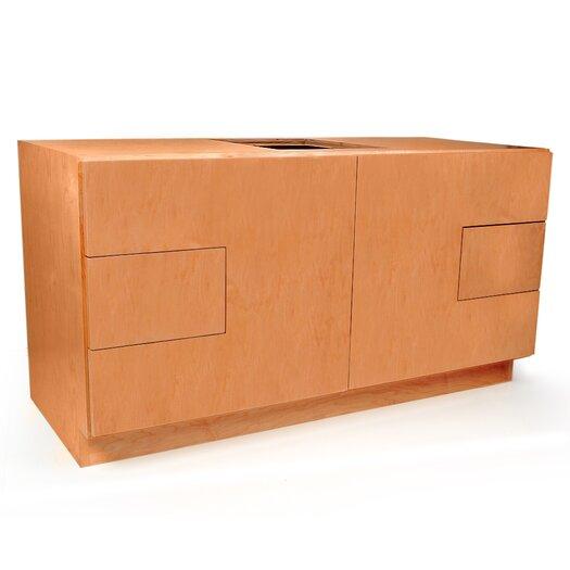 "D'Vontz MDV Modular Cabinetry 48"" Bathroom Vanity Base"