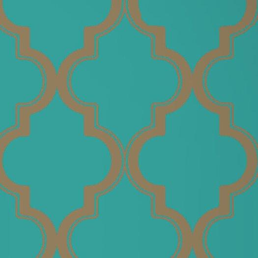 Tempaper Marrakesh Temporary Harlequin Foiled Wallpaper
