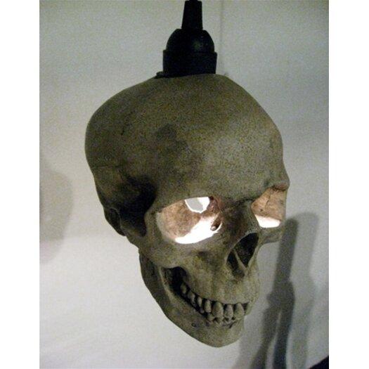 Shiner International Skull 1 Light Mini Pendant