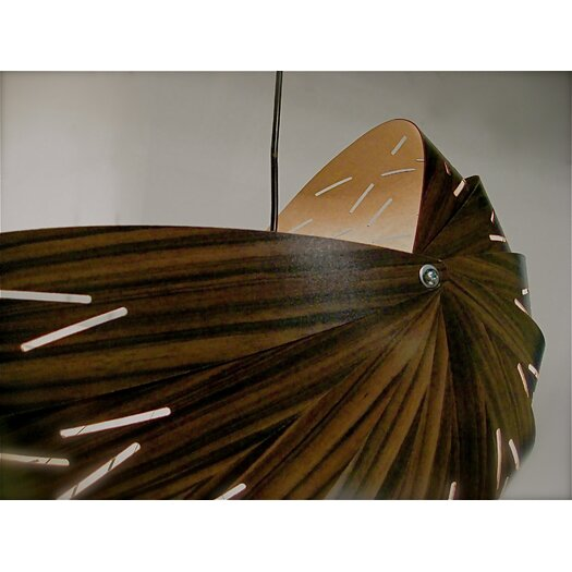 Shiner International Seed 1 Light Bowl Pendant