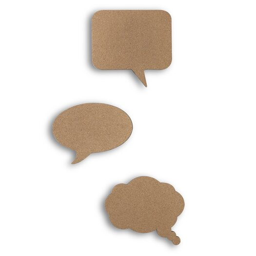 Umbra Talk 3 Piece Bulletin Board Set