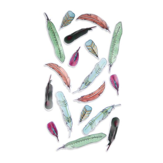 Feather Wall D�cor