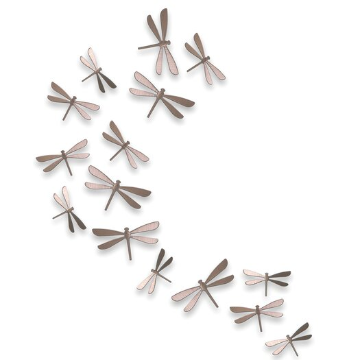Umbra Wallflutter Dragonflies Wall Décor