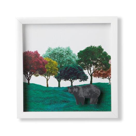 Spectra Bear by Mo� Takemura Framed Graphic Art