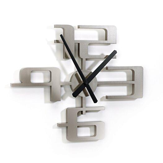 Umbra Big Time Geometric Molded Clock
