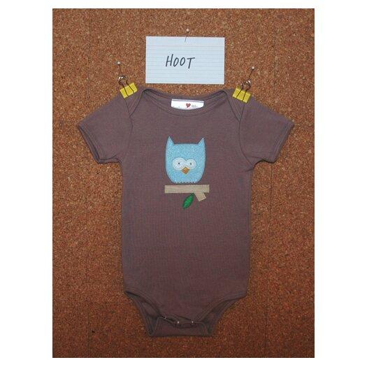Jasper Hearts Wren Hoot Organic Bodysuit or Tee