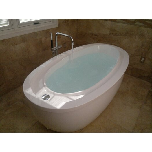 "Aquatica PureScape Acrylic 76"" x 41"" Freestanding Bathtub"