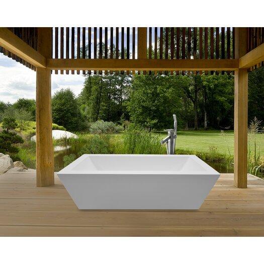 Aquatica PureScape 026 Freestanding Acrylic Bathtub