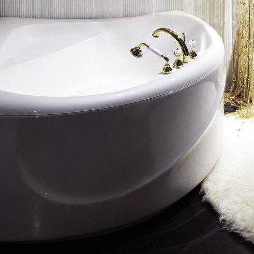 "Aquatica PureScape 84"" x 68"" Corner Acrylic Bathtub"