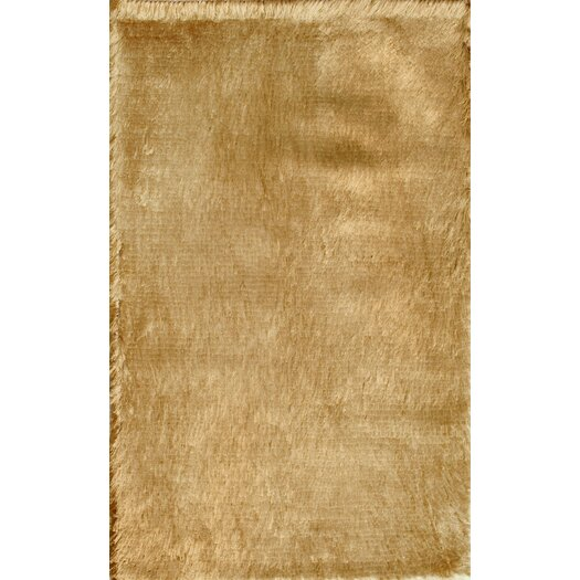 Noble House Crystal Solid Brown Rug