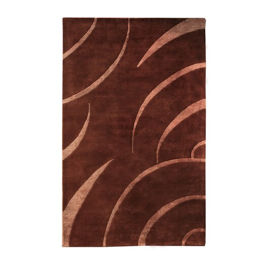 Noble House Citadel Brown/Peach Rug