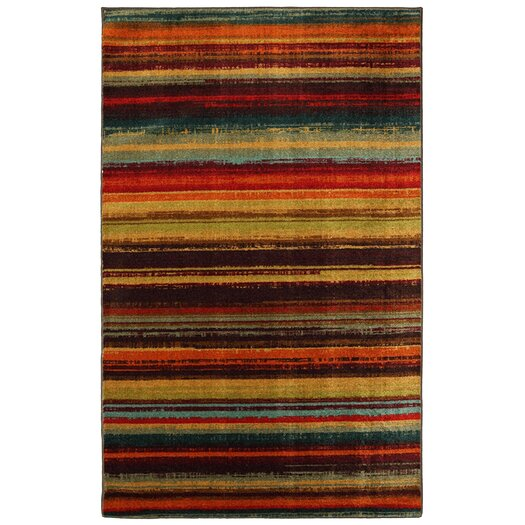Mohawk Home New Wave Boho Stripe Print Area Rug
