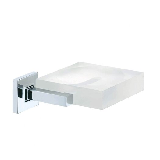 Artos Diora Wall-mount Vetrilite Soap Dish