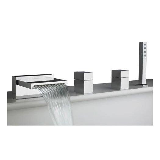 Artos Quarto Deck Mount Roman Tub Faucet Trim