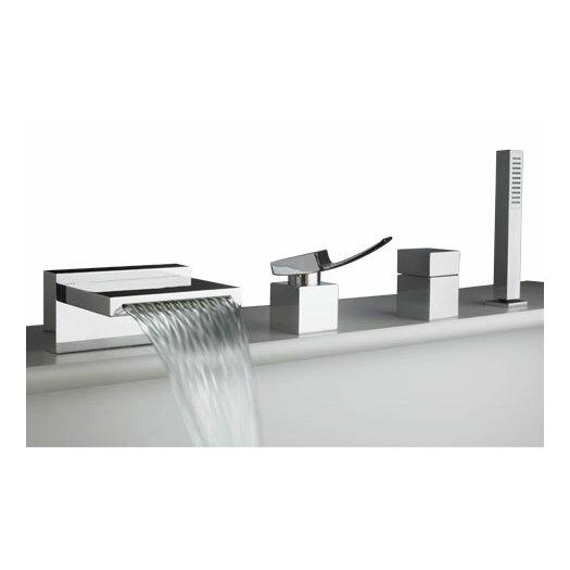 Artos Quarto Single Handle Deck Mount Roman Tub Faucet Trim